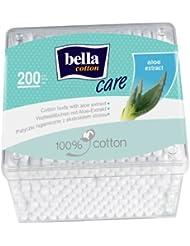 Bella Organic Cotton-Wool Pads with Aloe Vera Box (4... - ukpricecomparsion.eu
