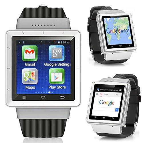 inDigi 3G Smartwatch Phone Android 4.4WiFi GPS Google Play Store entsperrt AT & T T-Mobile Smart Uhren Entsperrtes Smartphone