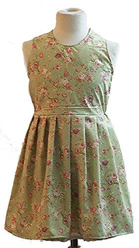 CL COSTUMES World Book Tag-Victorian-Sound von Music Von Trapp Familie Vorhang Clothes von Trapp Curtain Kleid - Alle Altersgruppen - Wie abgebildet, 11-13 (Von Trapp Kinder Kostüm)