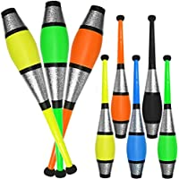 Set Of 3 Jac Products Circus Euro Juggling Clubs