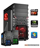 Gaming PC AMD, FX-6300 6x3.5 GHz, 16GB DDR3, 2TB HDD, GTX1060 6GB, Windows 7, Spiele Computer zusammengestellt in Deutschland Desktop Rechner