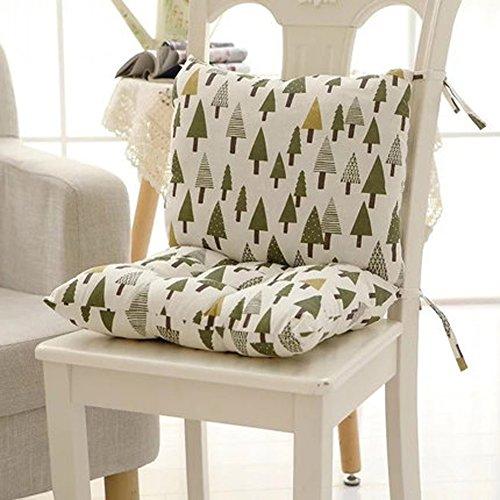 bel & weichen sitzkissen Student-sitzkissen Stuhl Polster für gartenmöbel Ergonomische Memory-Schaum,Sitzkissen kit-E 40x80cm(16x31inch) ()