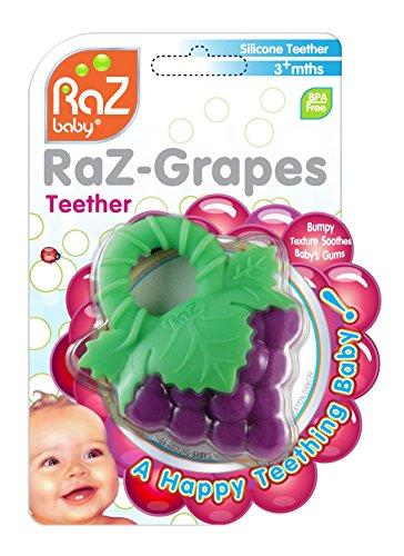 RaZbaby Teether Grapes