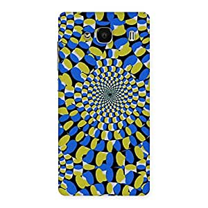 Illusion Back Case Cover for Redmi 2 Prime