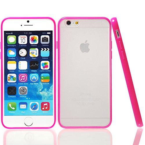 iPhone 6S/6étui, wisdompro® Ensemble de paillettes transparent/Housses de protection en gel TPU Jelly Case pour Apple 11,9cm iPhone 6S/6