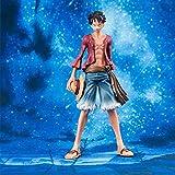 Sconosciuto Toy Statue One Piece Toy Model Collezione di Personaggi dei Cartoni Animati Keepsake Luffy 25CM