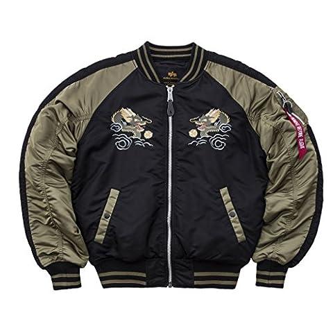 Alpha Industries Japan Dragon Bomberjacke black