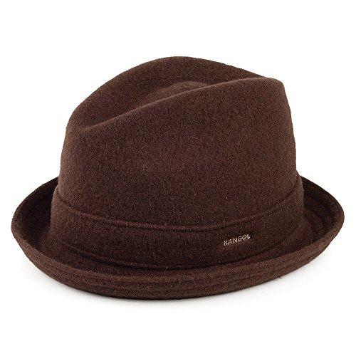 Kangol Lettore lana cappello di feltro, colore: marrone Brown Small