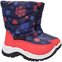Mountain Warehouse Botas de Nieve Caribou Estampadas Para Niño