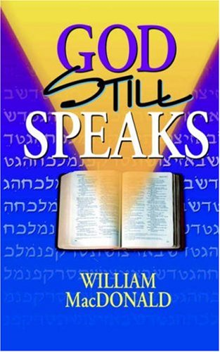God Still Speaks (Gospel Press Folio)