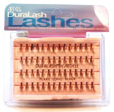 Ardell Duralash Flare Long Black (56 Lashes)Künstliche Wimpern (6er-Pack) - Ardell Duralash Flare