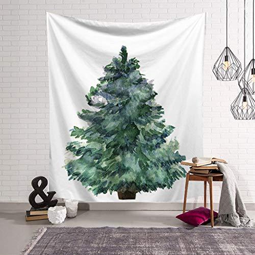 HNBY Tapiz De Árbol De Navidad Tapiz Moderno De Navidad