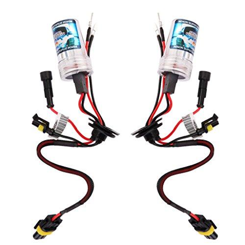 1 Paar HID Xenon Auto Scheinwerfer Licht Glühlampe H8 / H9 / H11 6000K 12V 35W