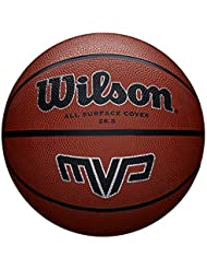 WILSON MVP, Palla Basketball Unisex – Adulto, Marrone, 6