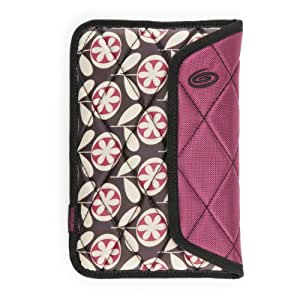 Timbuk2 Plush Sleeve for 7-Inch Tablets with Memory Foam for Impact Absorption, Lola Floral/Mulberry