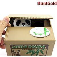 HuntGold cute panda volent l'argent boîte tirelire économiser médaille(1pcs)