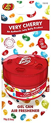 Jelly Belly 15510A Gel Can Air Freshener for Very Cherry