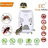 Density Collection Non-Toxic Home Ultrasonic Pest Repeller Control Reject Device Spider Lizard Mice Repellent for Mosquito, Ant, Flea, Rats, Roaches, Cockroaches, Fruit Fly, Rodent, Insect (White)