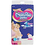 MamyPoko Pants Extra Absorb Diapers Monthly Pack, Large (Pack of 99)