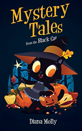 Books for Girls : Mystery Tales from the Black Cat: (Vampire, Witches, Mysteries Stories, books for kids 9-12) (Mystery book for kid age 9-12) (English Edition)
