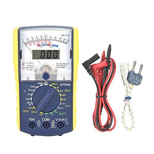 Analoges Multimeter , Präzisions Hand Analog Digital Multimeter mit Doppelanzeige , Elektrischer Widerstandstester -