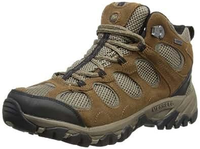 Merrell Hilltop Ventilator Mid Waterproof, Men's Trekking and Hiking Boots, J099971C, Grey (Merrell Stone/Boulder), 8 UK