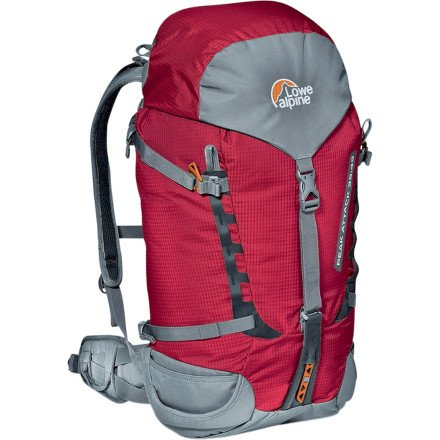 lowe-alpine-zaino-peak-attack-rosso-chilli-red-35-10-litri