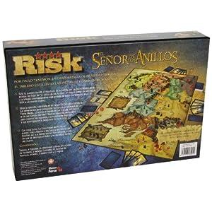 Hasbro Gaming Risk – El señor de los Anillos, juego de mesa (Eleven Force 82011)