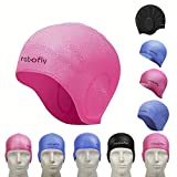 rabofly Bonnet de Bain en Silicone, Bonnets de Natation Scientifique Design de...