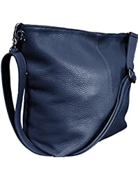 eb0fda8309 Handbag Bliss Genuine Italian Soft Leather Cross Body Shoulder Slouch Bag  Handbag With Cotton Like Lining