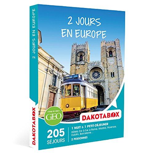 DAKOTABOX - Coffret Cadeau - 2 JOURS EN EUROPE - 175 hôtels 3 à 5* dans les plus...