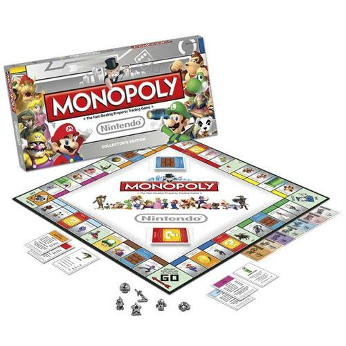 USAopoly Nintendo Monopoly Collectors Edition USA-MN005135-10 by USAopoly
