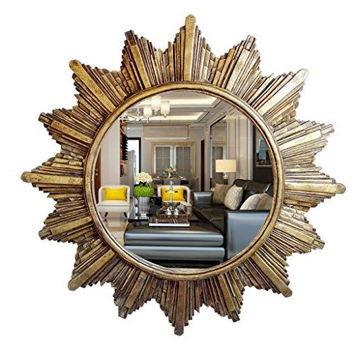 LYLLYL Pasillo Decorativo Espejo Barra Colgante Pared