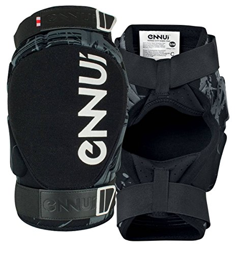 Ennui City Gasket Knieschoner schwarz schwarz, L/XL