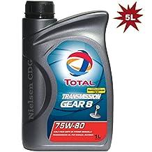 Total Transmission Gear 8 75W80 Manual Gear Box Oil -5L (Replaces BV)
