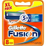 Gillette Fusion Lames De Rasoir Pour Homme 8 Recharges