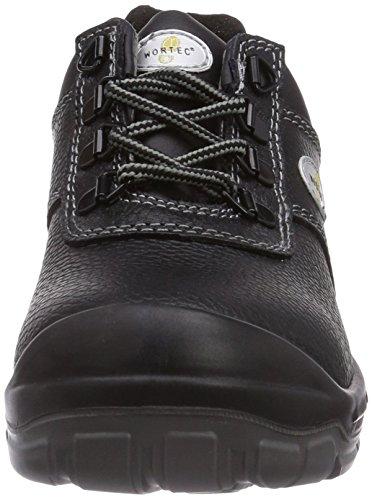 Chaussures Wortec mixte adulte Schwarz Lenny de S2 Schwarz sécurité AFFxfOqpwg