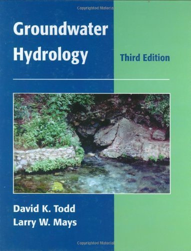 Groundwater Hydrology by David Keith Todd (2004-08-06)