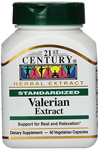 21st Century Health Care, Baldrian-Extrakt - x60Vcaps