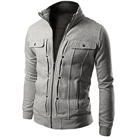 Anglewolf Gli Uomini Business Casual Jacket Bavero