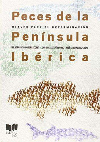 Peces de la península Ibérica: Claves para su determinación (Ceimar)
