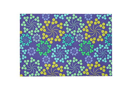Floral Design Purple Z094 Large Area Rugs,Dirty Children's Carpets for Living Roooms,Bedrooms,Children's Doormats 183x122cm/72x48in - 24 72 Teppich Läufer