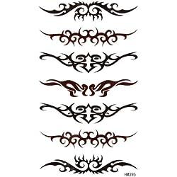 King Horse kreative Individualität zu einer großen Zahl von Toten Tattoo-Aufkleber