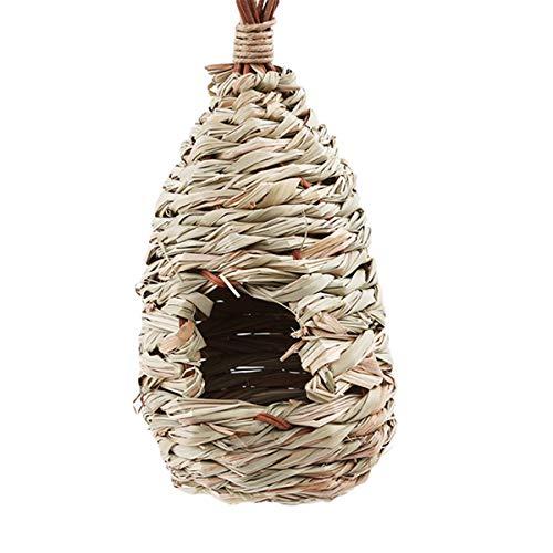 t Vogel Bett Vogelnest Kanarienvogel Käfig Vogel Eier Container Zucht Nest Dekorative Käfige ()