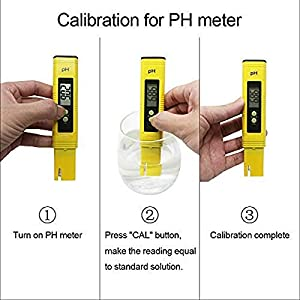 Binchil Meter Prova Di Qualita' 'acqua, Ph-Metro TDS 2 In 1 Kit Con 0-14.00Ph E 0-9990 Ppm Gamma Di Misura Per La Coltura Idroponica, Acquari, Acqua Potabile, Ro, Piscina E Peschiera