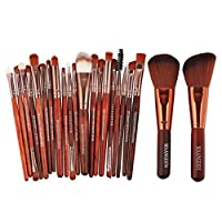 Mingfa 22pcs Makeup Brushes Set, Premium Foundation Eye Shadow Blending Blush Eye Face Powder Brush,Kabuki Cosmetic Brushes