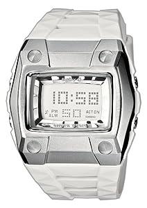 Casio BG-2101-7ER - Reloj digital de mujer de cuarzo con correa de resina blanca (cronómetro, alarma, luz) - sumergible a 100 metros de CASIO