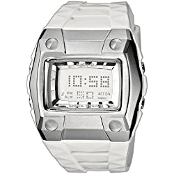 Casio BG-2101-7ER - Reloj digital de mujer de cuarzo con correa de resina blanca (cronómetro, alarma, luz) - sumergible a 100 metros