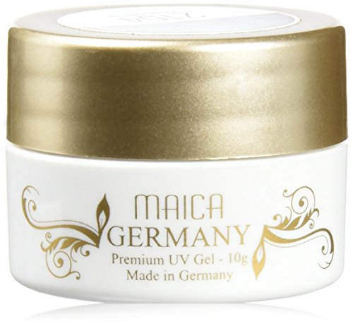 maica Allemagne Gels UV Pearly White, 1er Pack (1 x 10 g)