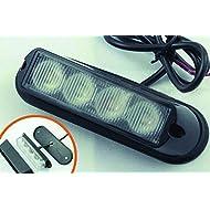 LED Voiture Car Avertissement 6modes flash 12V 4W de danger de sécurité d'urgence de la torche électrique Grille Du précipité de la plate-forme Strobe Light Lamp Bar KM202–4B personalizzare